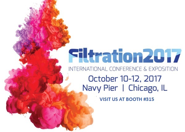 Filtration 2017 Expo Booth #315